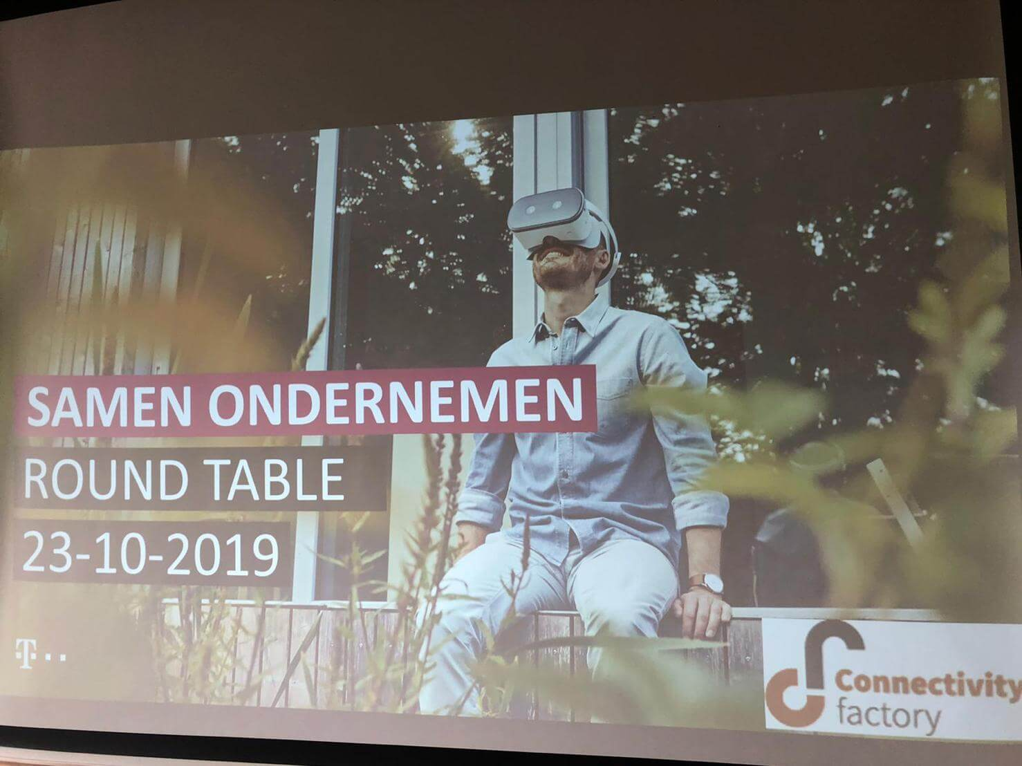 Wederom een bijzonder sterke Connectivity Factory roundtable editie met T-Mobile ..